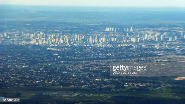 aérea de campo grande,  mato grosso do sul, brasil. - sem fim... valéria del cueto stock pictures, royalty-free photos & images