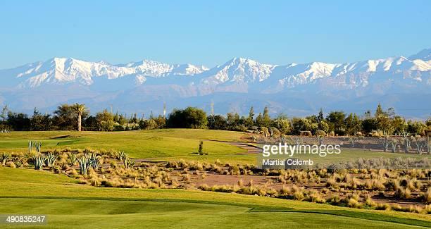 Area of Marrakech and Atlas Mountain