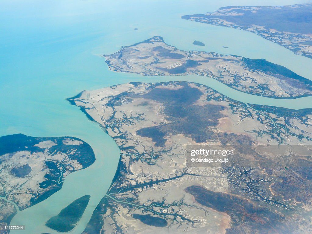 Areal view of Whitsunday Island : Stock Photo