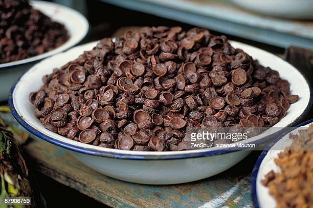 Areca nuts in bowl
