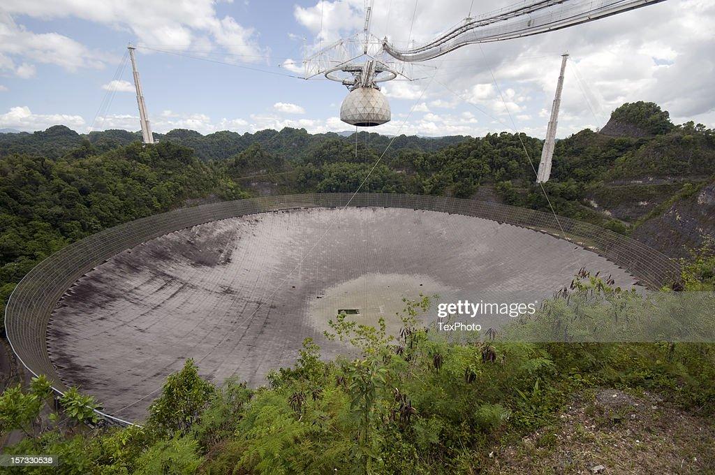 Arecibo Radio Telescope : Stock Photo