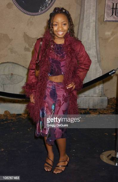 Aree Davis during 'The Haunted Mansion' World Premiere at El Capitan Theatre in Hollywood California United States
