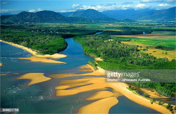 Areial view of the Cairns area, north Queensland, Australia