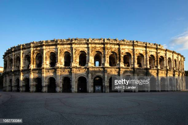 Arena at Nimes - In the cities of the Roman Empire, the arena was the venue of choice for epic shows such as gladiator events. During Roman times...