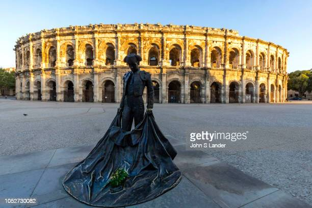 OCCITANIE NIMES GARD FRANCE Arena at Nimes In the cities of the Roman Empire the arena was the venue of choice for epic shows such as gladiator...