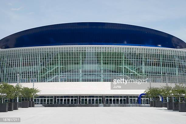 arena in berlin - entrance stock pictures, royalty-free photos & images