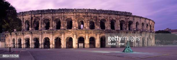 Arena of Nimes at dusk