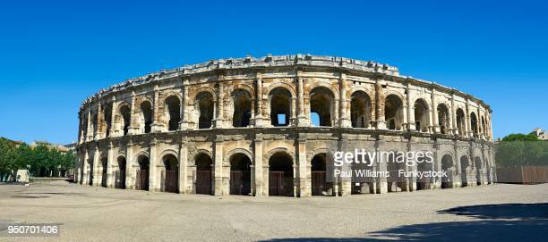 Arena of Nimes, Roman ampitheatre, Nimes, France