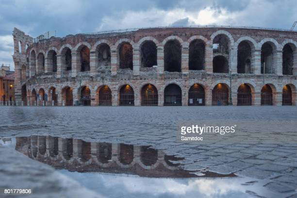 Arena of Verona (Arena di Verona) ancient amphitheatre used today as a stage for concerts and Opera performances