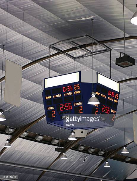 arena scoreboard - scoring stock pictures, royalty-free photos & images