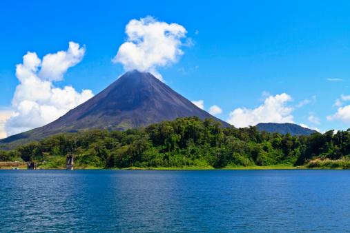 Arenal Volcano and Lake 136636751