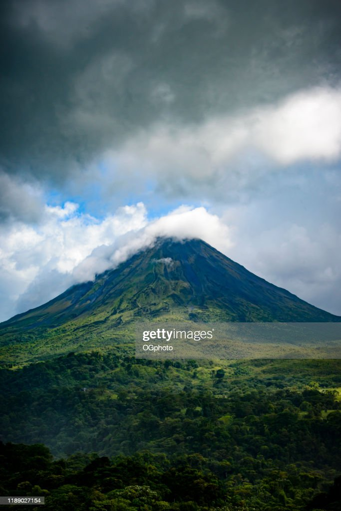 Arenal Volcano, Costa Rica : Stock Photo