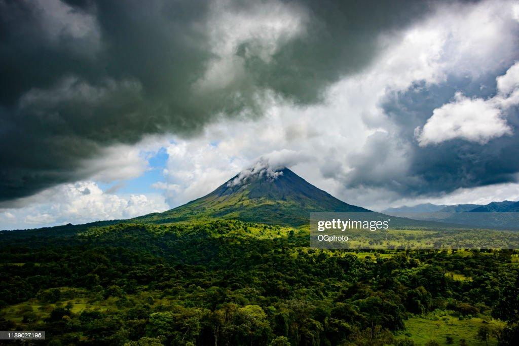 Arenal Volcano, Costa Rica : Stock Photo