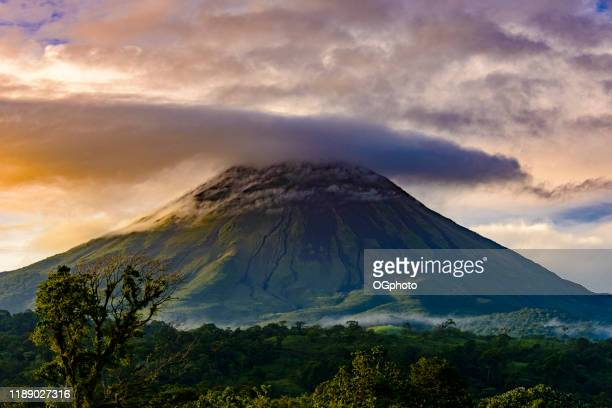 arenal volcano, costa rica - ogphoto stock pictures, royalty-free photos & images