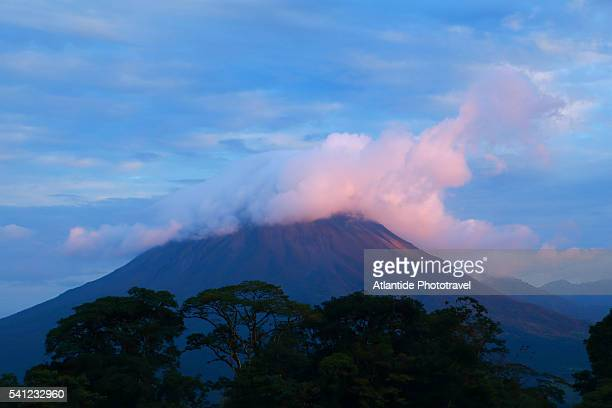 Arenal Volcano national Park, view of the Volcano.