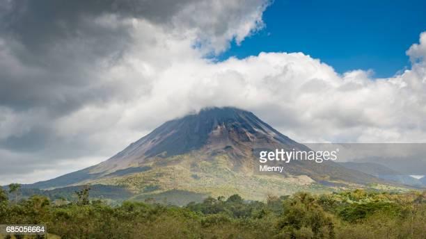 arenal volcano volcán arenal panorama arenal
