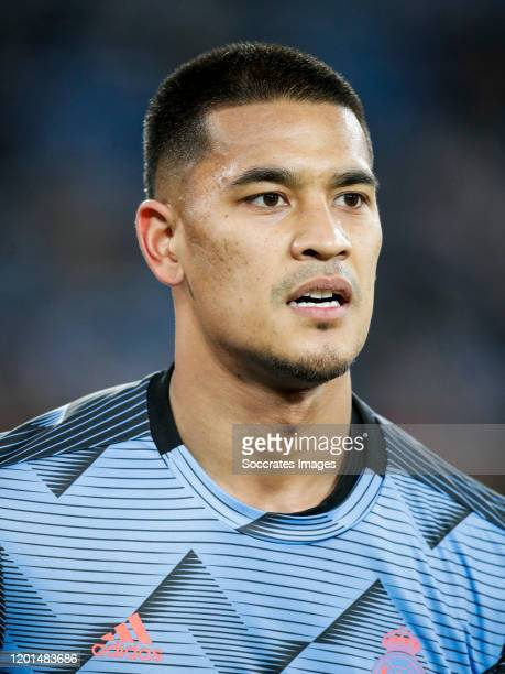Areola of Real Madrid during the La Liga Santander match between Real Madrid v Celta de Vigo at the Santiago Bernabeu on February 16 2020 in Madrid...