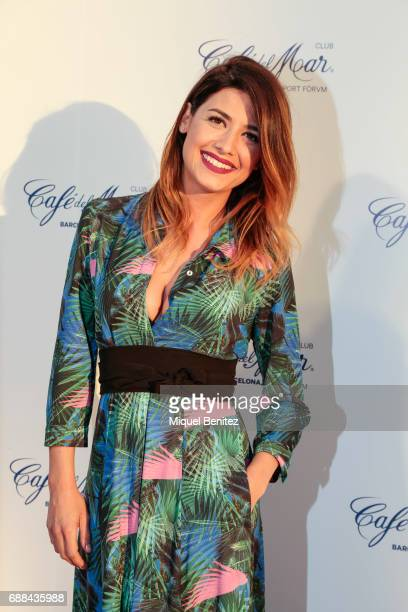 Ares Teixido attends the Cafe del Mar Club Barcelona's Opening at Port Forum Sant Adria on May 25 2017 in Barcelona Spain