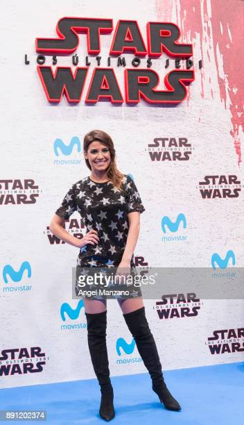 Ares Teixido attends the 'Star Wars Los Ultimos Jedi' Madrid Premiere at Kinepolis Cinema on December 12 2017 in Madrid Spain