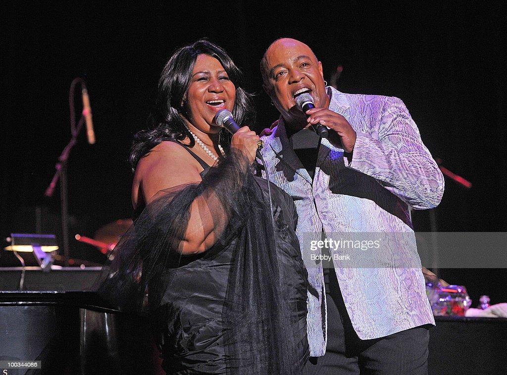 Aretha Franklin Spring Gala : News Photo