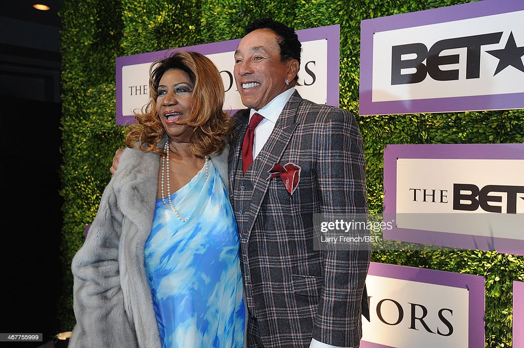 Image result for smokey robinson honors aretha franklin