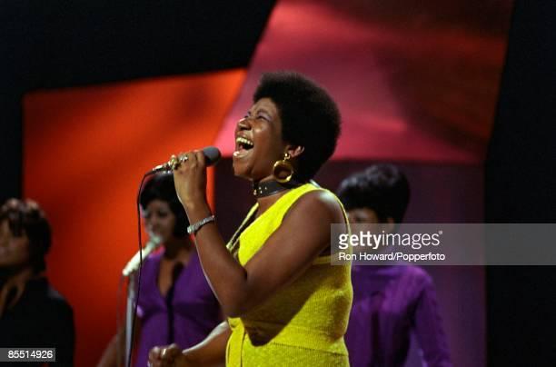 Aretha Franklin Backstage