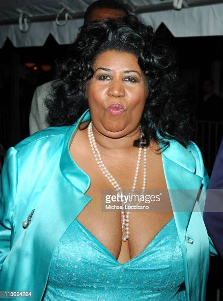Aretha Franklin during 32nd Annual Daytime Emmy Awards Arrivals at Radio City Music Hall in New York City New York United States