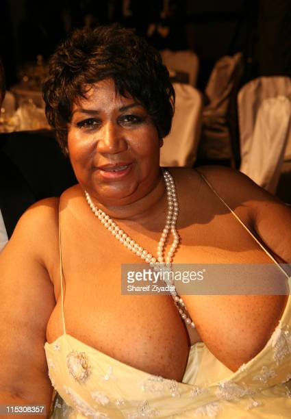Aretha Franklin during Radio One's 25th Anniversary Awards Dinner Gala at JW Marriot in Washington DC United States