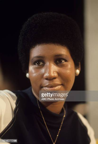 Denise Nicholas and Aretha Franklin on ABC Television series 'Room 222' January 14 1972