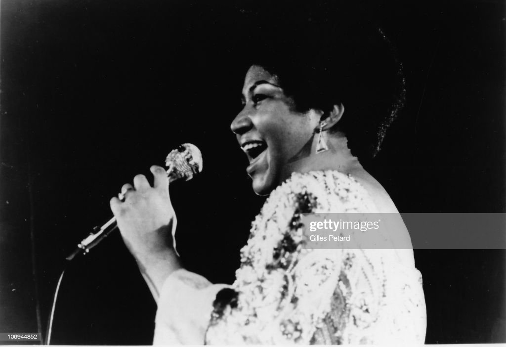 Aretha Franklin : News Photo