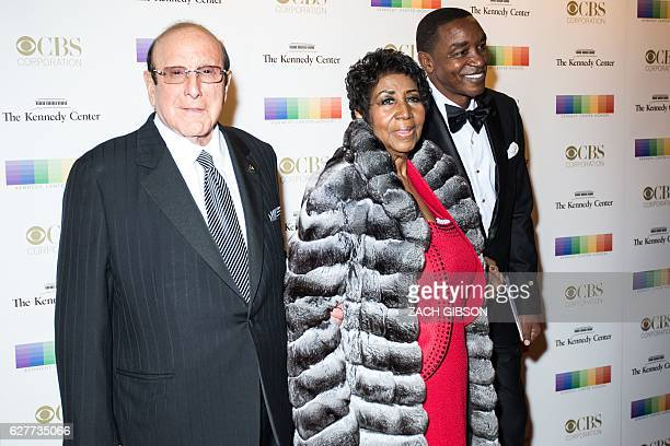 Aretha Franklin poses on the red carpet before the 39th Annual Kennedy Center Honors December 4 2019 in Washington DC / AFP / ZACH GIBSON