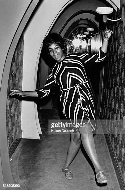 Aretha Franklin the American soul singer