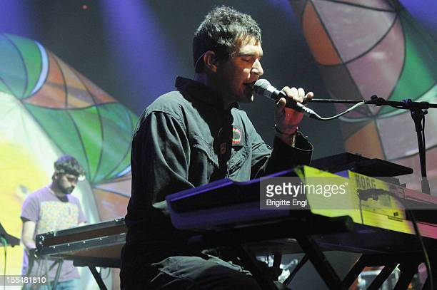 Arey Tare of Animal Collective performs on stage at The Roundhouse on November 4 2012 in London United Kingdom