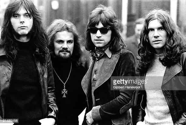 Argent posed in London in 1971 LR Robert Henrit Jim Rodford Russ Ballard Rod Argent