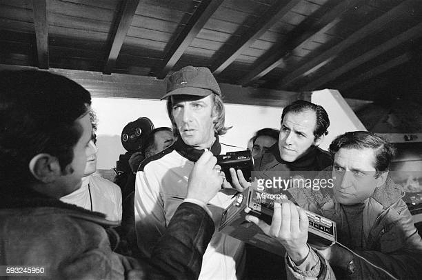 Argentina 3 v Holland 1 Argentina manager Cesar Luis Menotti speaking at a press conference before the match 23rd June 1978