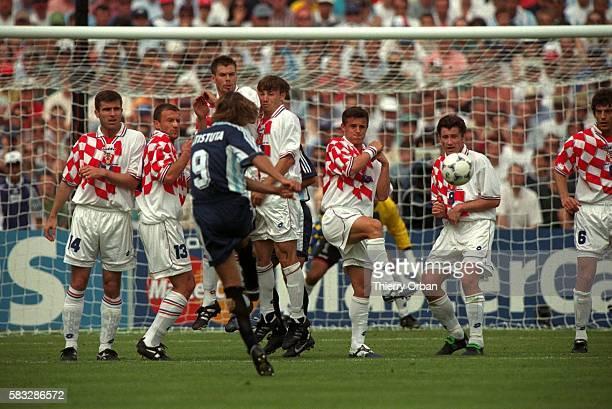 SOCCER argentina argentinian cup croatia team world