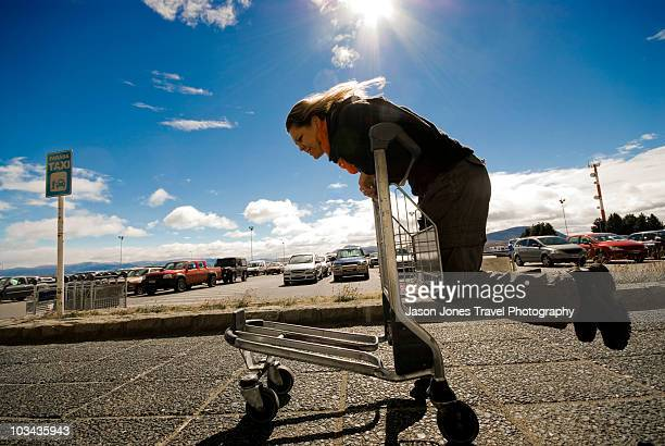 argentina, bariloche airport - bariloche stock pictures, royalty-free photos & images