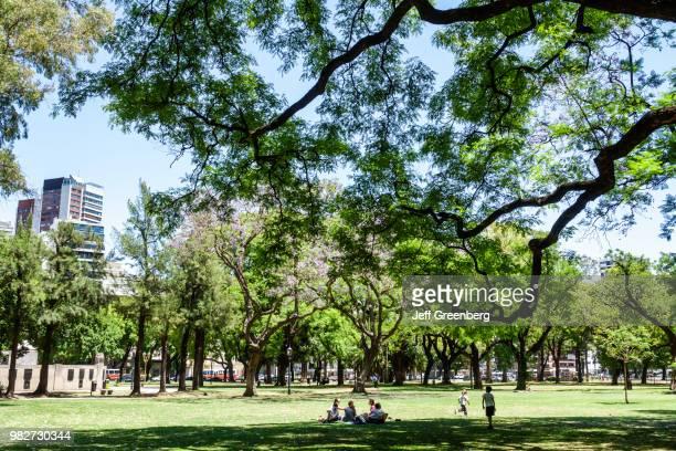 Argentina Buenos Aires Palermo Plaza Alemania park