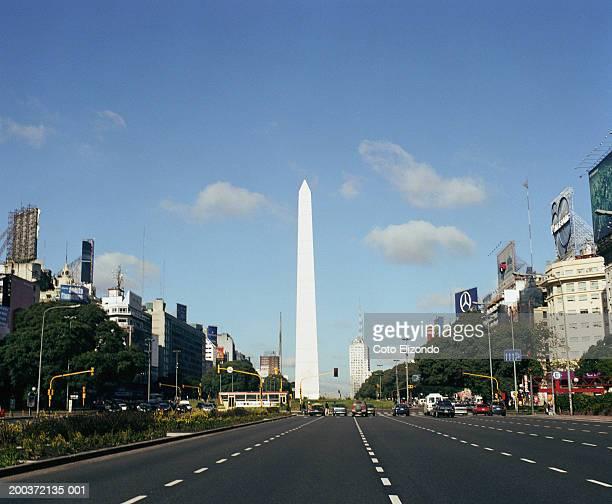 Argentina, Buenos Aires, Plaza de la Republica, Obelisk