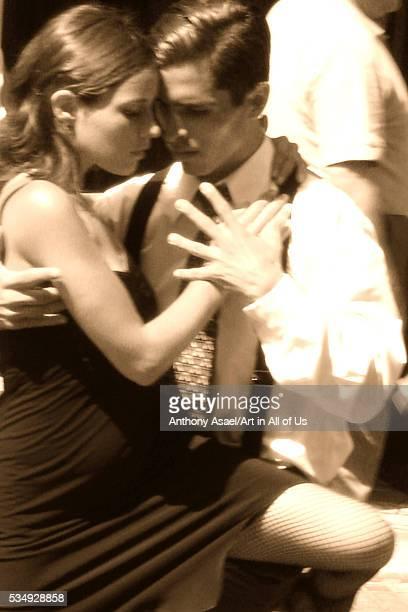 Argentina Buenos Aires Recoleta Tango dancers
