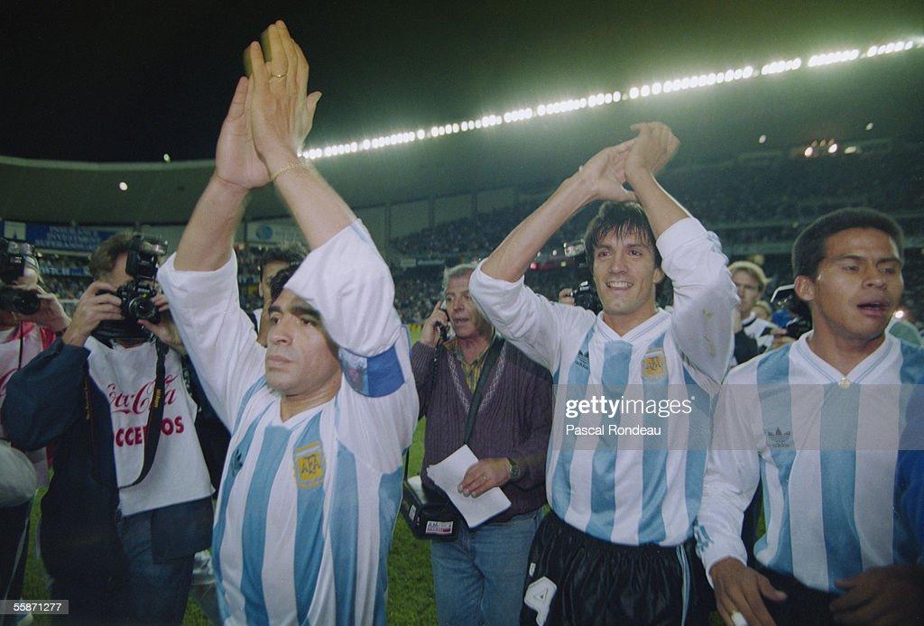 FIFA World Cup Finals 1994 Play-Off Match: Argentina v Australia : Fotografía de noticias