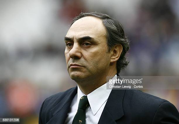 Argentina coach Marcelo Loffreda during the France vs Argentina rugby test match