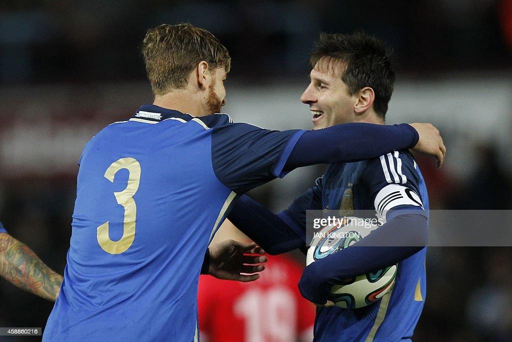FBL-LATAM-EURO-2016-ARG-CRO-FRIENDLY : News Photo