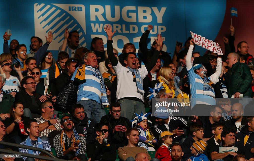 Argentina v Australia - Semi Final: Rugby World Cup 2015 : News Photo