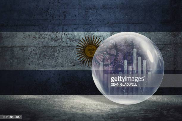 argentina financial bubble - argentina stock pictures, royalty-free photos & images