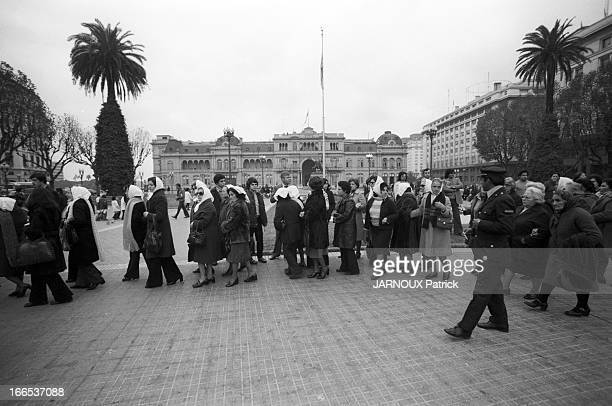 'Folles De La Place De Mai' Demonstration In Front Of The Government House In Buenos Aires