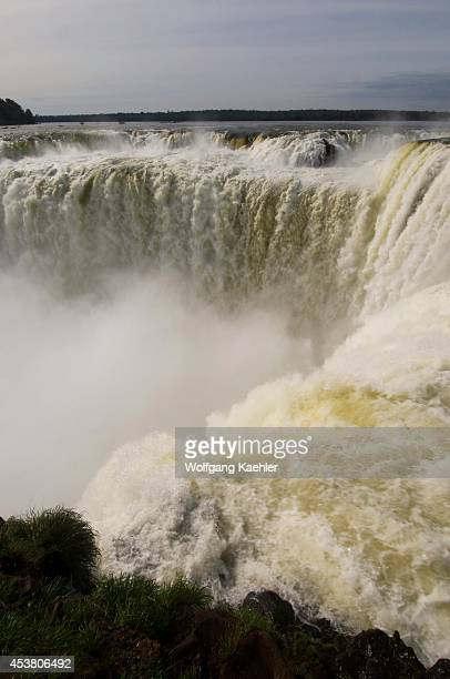 Argentina Iguassu National Park Iguassu Falls View Of Devils Throat