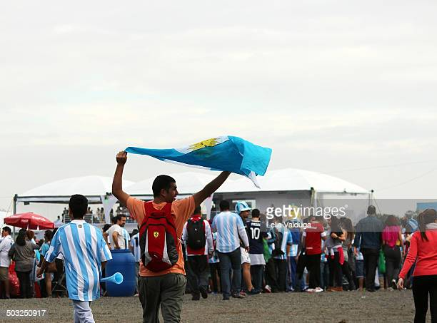 Argentina is ranked the eighth finals of the FIFA World Cup 2014 - Brazil. The FIFA FAN FEST in Porto Alegre in the state capital of Rio Grande do...