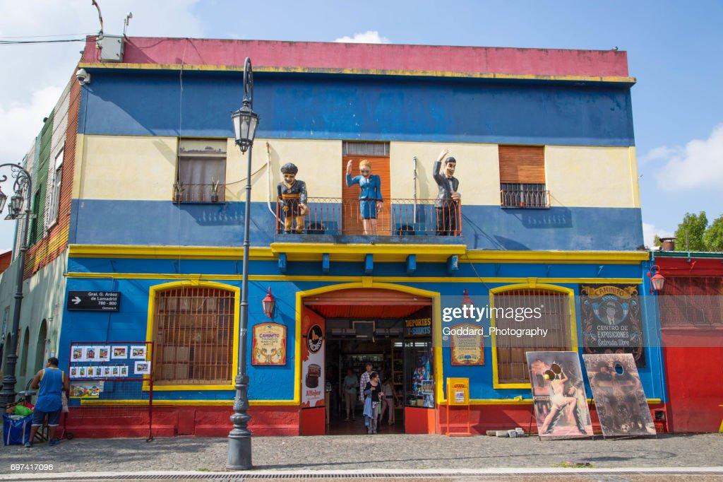 Argentinien: La Boca in Buenos Aires : Stock-Foto