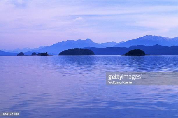 Argentina, Near Bariloche, Lake District, Lake Nahuel Huapi.